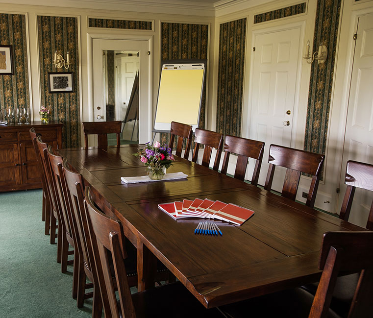 Meeting room at Bozarth Mansion