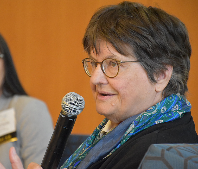 pecial guest Sr. Helen Prejean, author of Dead Man Walking, discussed gender, activism and her pursuit of justice.