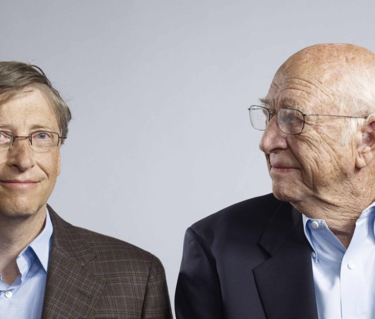 Bill gates senior and son