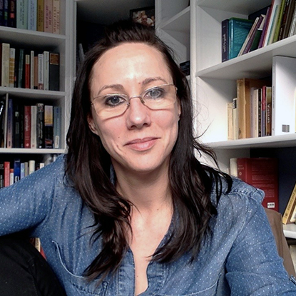 Portrait of Danielle Layne, Ph.D., Associate Professor of Philosophy, Director of Philosophy Graduate Program