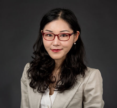 Portrait of Gloria Chien, Assistant Professor of Religious Studies
