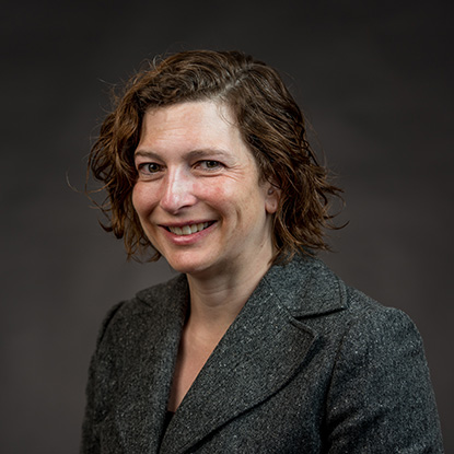 Portrait of Linda Breton Tredennick, Professor of English, Director of Honors, Gonzaga University.