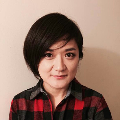 Portrait of Yu-Kyung Kang, Assistant Professor of English, Department of English Gonzaga University.