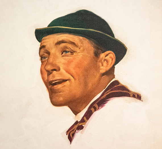 Rockwell painting of Bing Crosby