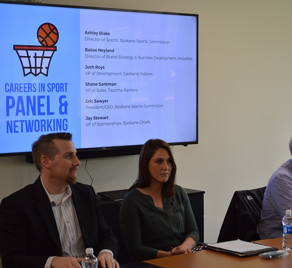 Sport Management Panel Connects Students