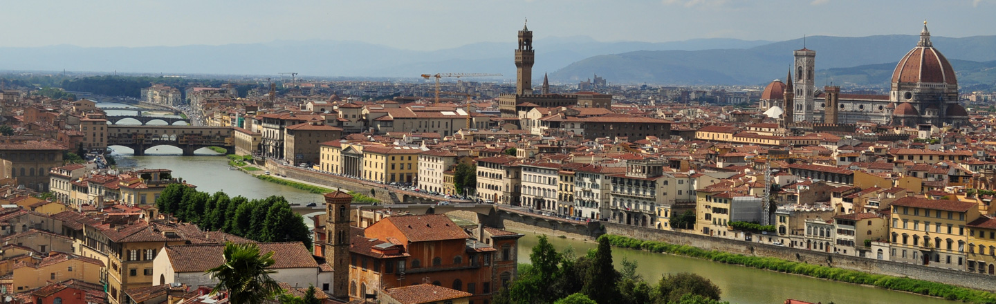 Scenic View of Cityscape, Florence, Italy