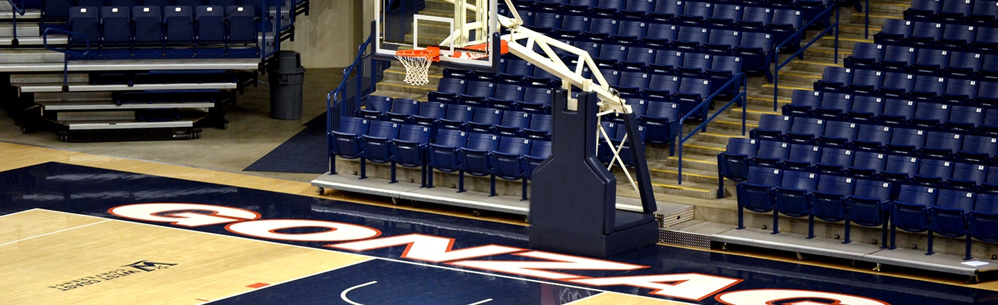 Gonzaga Basketball Court McCarthey Athletic Center