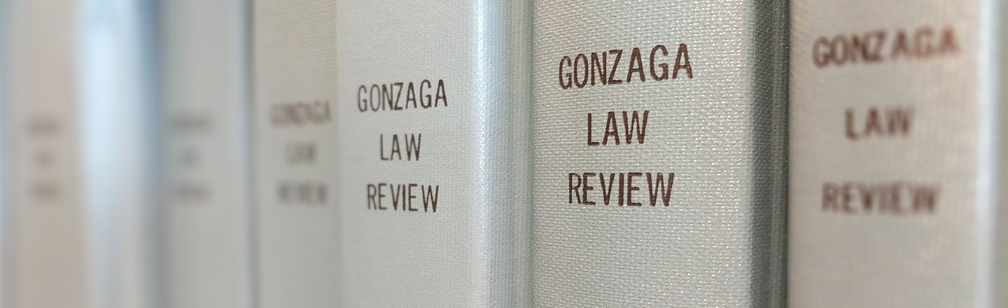 Gonzaga Law Review books