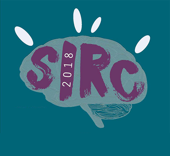 logo for 2018 SIRC, with brain