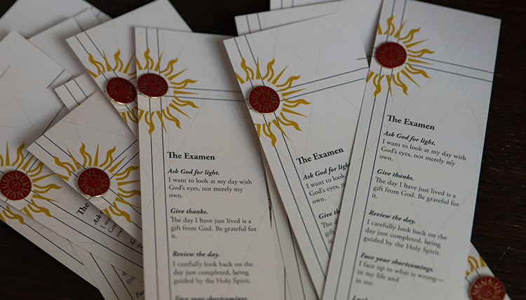 bookmarks include the steps of a personal examen reflection