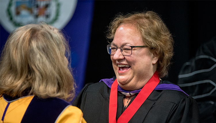 U.S. Federal District Court Judge Rosanna Malouf Peterson receives medal