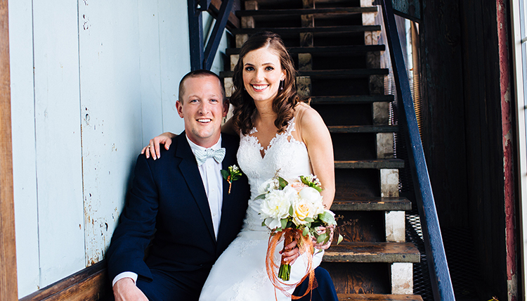 Gonzaga grads marry - Justin Albrecht and Stephanie Zimmerman