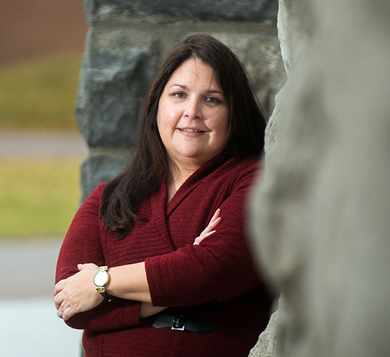 Laurie Arnold, associate professor of history, leads Gonzaga's Native American studies program. (GU photo)