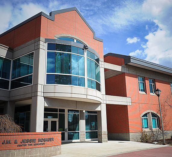 The J.M. and Jessie Rosauer Center for Education. Gonzaga photo.