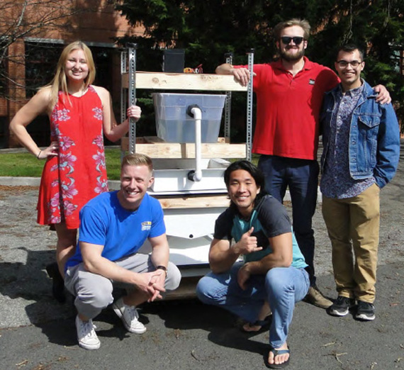 Water still by a 2017 Senior Design team