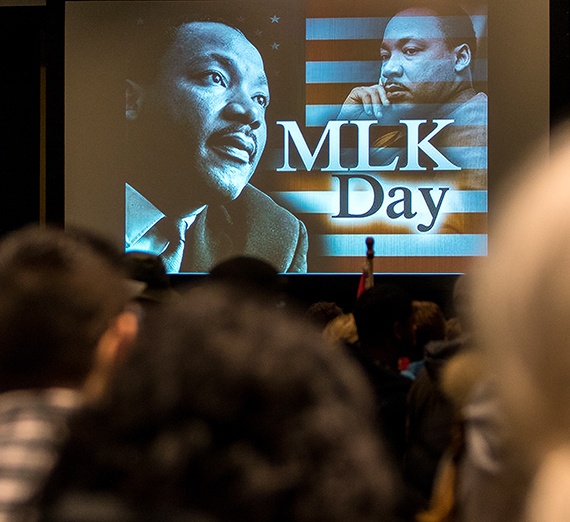 Gonzaga hosts Civil Rights Teach-In on MLK Day Jan. 21, 2019.
