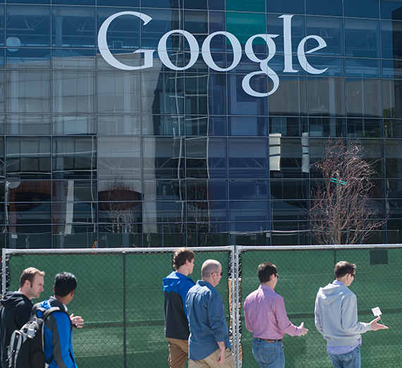 Gonzaga University students visit Google Headquarters