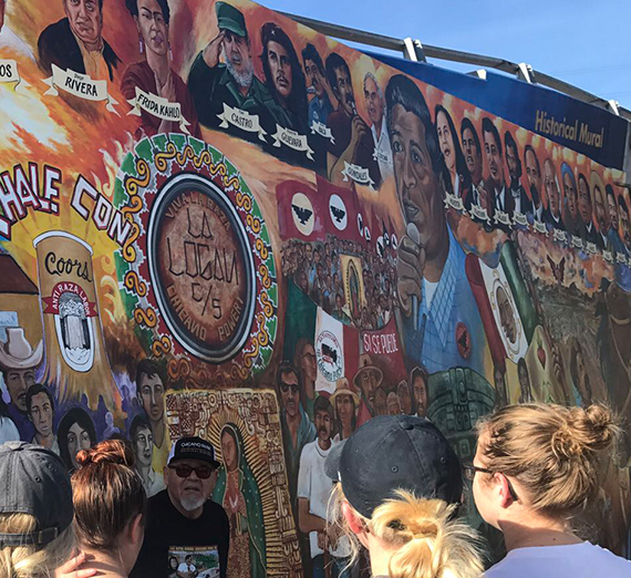 mural at San Diego's historic Chicano Park