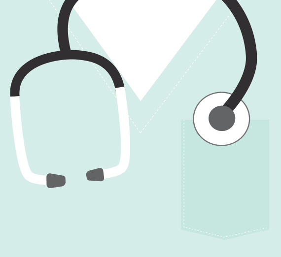 Nurse stethoscope graphic
