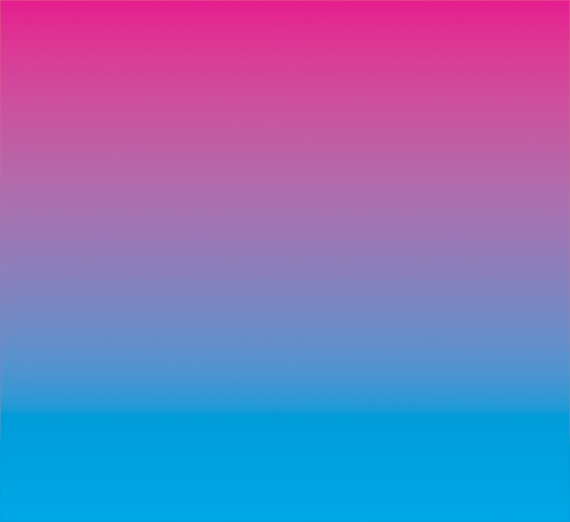 gradient of pink to blue