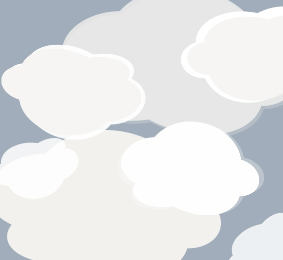 clouds on a gray background