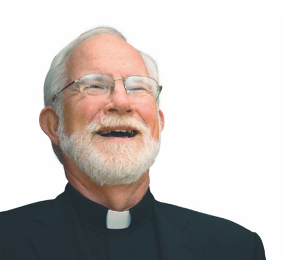 father kuder smiling