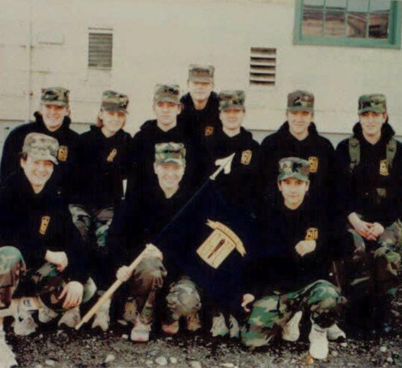 photo of women in ROTC 1999