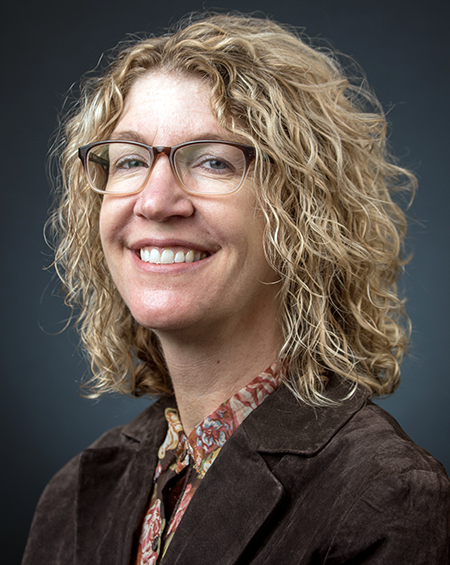 Heather Crandall, Ph.D., associate professor of communication studies (GU photo)