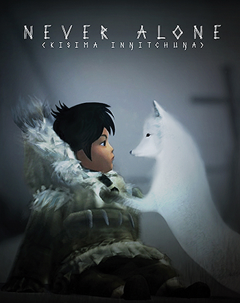 The poster for 'Never Alone.' Courtesy Amy Fredeen