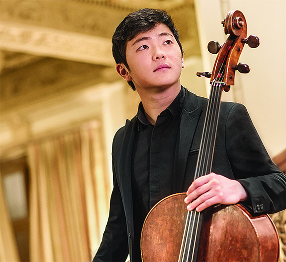 Cello Virtuoso Brannon Cho (Credit Carlin Ma)