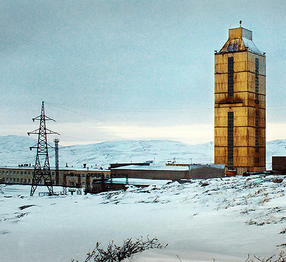 This image from the film depicts Russia's Kola Superdeep Borehole site. (Courtesy Matt McCormick)