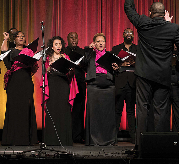 EXIGENCE promotes excellence and diversity through choral music. (Credit Kevin Kennedy)