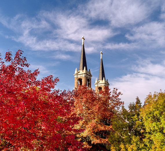 The Spires of St. Aloysius Church at Gonzaga University. (GU photo)