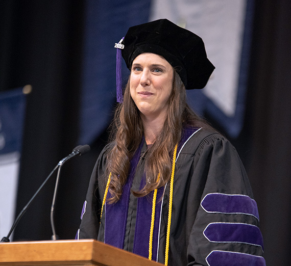Emily Sauvageau, Gonzaga Law Commencement Speaker