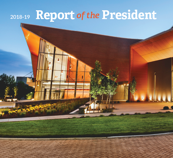 cover of the report with Woldson center
