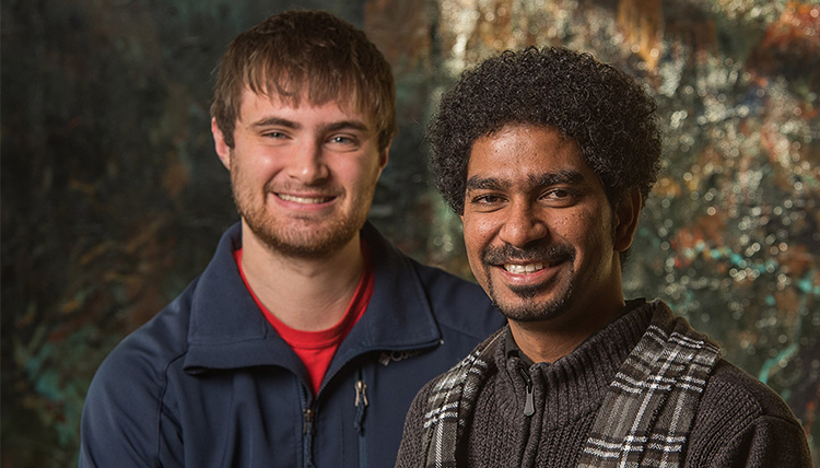 Aaron Danowski and Manoj Thirupal in 2014