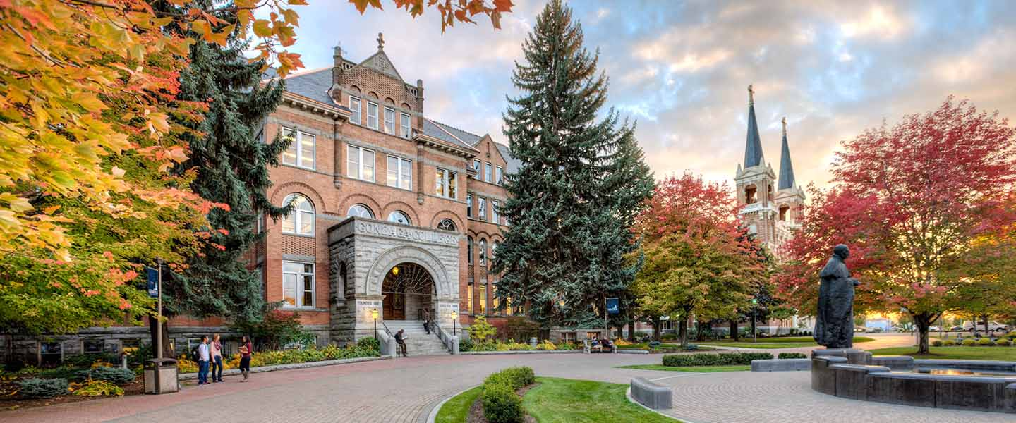 College Hall, Gonzaga University.