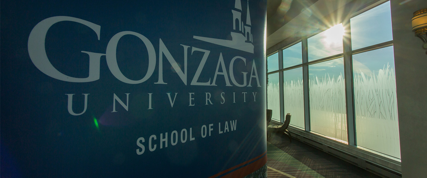Gonzaga University School of Law banner