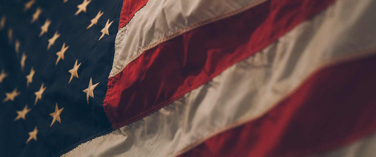 US Flag - Photo by Samuel Branch on Unsplash